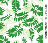 seamless pattern with hand... | Shutterstock .eps vector #410548438