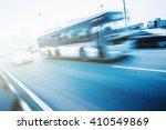 Road Traffic Motion Blurred.