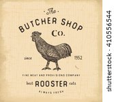 Butcher Shop Vintage Emblem...