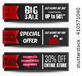 black friday sale banners.vector   Shutterstock .eps vector #410571040