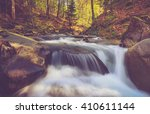 View Of Mountain River With...