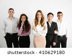 portrait of young people...   Shutterstock . vector #410629180