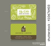 organic foods shop or vegan...   Shutterstock .eps vector #410676403