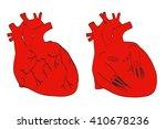 2d cartoon illustration of... | Shutterstock . vector #410678236