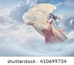 dreamy image of a beautiful... | Shutterstock . vector #410699734
