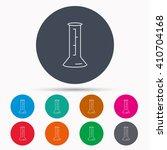 beaker icon. laboratory flask... | Shutterstock .eps vector #410704168