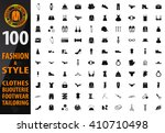 fashion icon set for web sites... | Shutterstock .eps vector #410710498