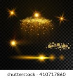 modern light effects  vector | Shutterstock .eps vector #410717860