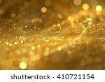 abstract gold bokeh background | Shutterstock . vector #410721154