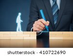 customer care and support  help ... | Shutterstock . vector #410722690