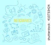 infographics elements | Shutterstock .eps vector #410733424