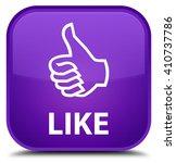 like purple square button | Shutterstock . vector #410737786
