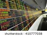 display of stock market quotes... | Shutterstock . vector #410777038