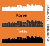 kayseri  turkey | Shutterstock .eps vector #410784994