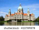 Stock photo  new city hall building in hannover germany 410789878