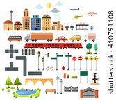 a vector illustration of city...