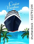 a vector illustration of cruise ... | Shutterstock .eps vector #410791144