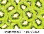 Pieces Of Kiwi Fruits For...