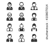 people icons | Shutterstock .eps vector #410807014