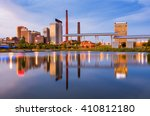 Small photo of Birmingham, Alabama, USA city skyline.
