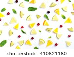 fruit design background with... | Shutterstock . vector #410821180