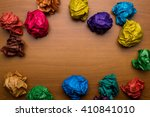 Of Colored Paper Balls