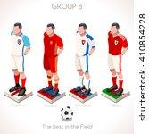 france euro 2016.soccer group b ... | Shutterstock .eps vector #410854228
