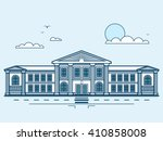 stock vector illustration city... | Shutterstock .eps vector #410858008