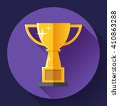 champions gold cup   victory... | Shutterstock .eps vector #410863288