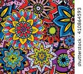 seamless pattern texture.... | Shutterstock .eps vector #410864593