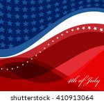abstract image of the american... | Shutterstock .eps vector #410913064