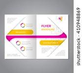vector modern brochure ... | Shutterstock .eps vector #410948869