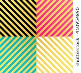vector geometric striped... | Shutterstock .eps vector #410954890