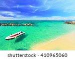 paradise beach in koh maiton... | Shutterstock . vector #410965060