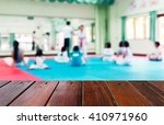 look out from the table  blur... | Shutterstock . vector #410971960