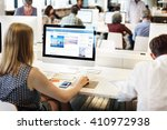 knowledge information... | Shutterstock . vector #410972938