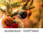 christmas globe decoration | Shutterstock . vector #410973664