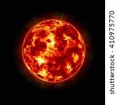 3d the sun shine. | Shutterstock . vector #410975770