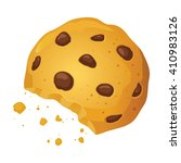 vector stock of a chocolate... | Shutterstock .eps vector #410983126