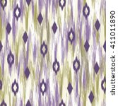 abstract ikat diamond design  ... | Shutterstock .eps vector #411011890