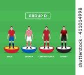 figurine football  soccer  ... | Shutterstock .eps vector #411014998