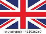 united kingdom flag | Shutterstock .eps vector #411026260