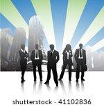 business people | Shutterstock .eps vector #41102836
