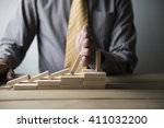 business concept for growth... | Shutterstock . vector #411032200