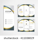 brochure template design vector | Shutterstock .eps vector #411038029