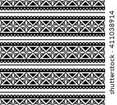 seamless raster pattern. black... | Shutterstock . vector #411038914
