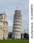 Leaning Tower Of Pisa In The...