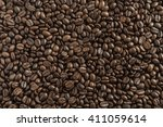 Roasted Brown Coffee Beans...