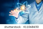 innovative technologies in... | Shutterstock . vector #411068650