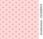 Pink Seamless Polka Dots Pattern